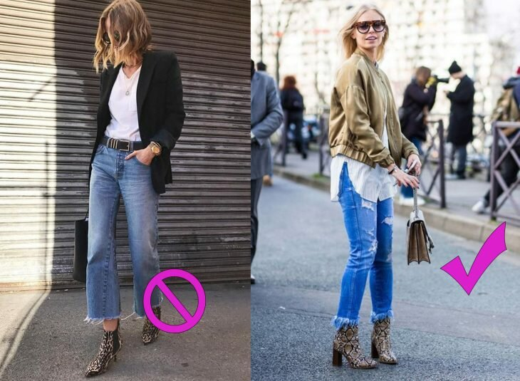 Какая обувь не подходит к джинсам мода и красота,модные советы,обувь,одежда и аксессуары