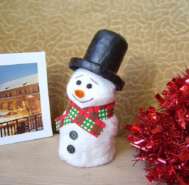 Снеговик из носка своими руками / Подарки, сувениры и. - Pinterest 36
