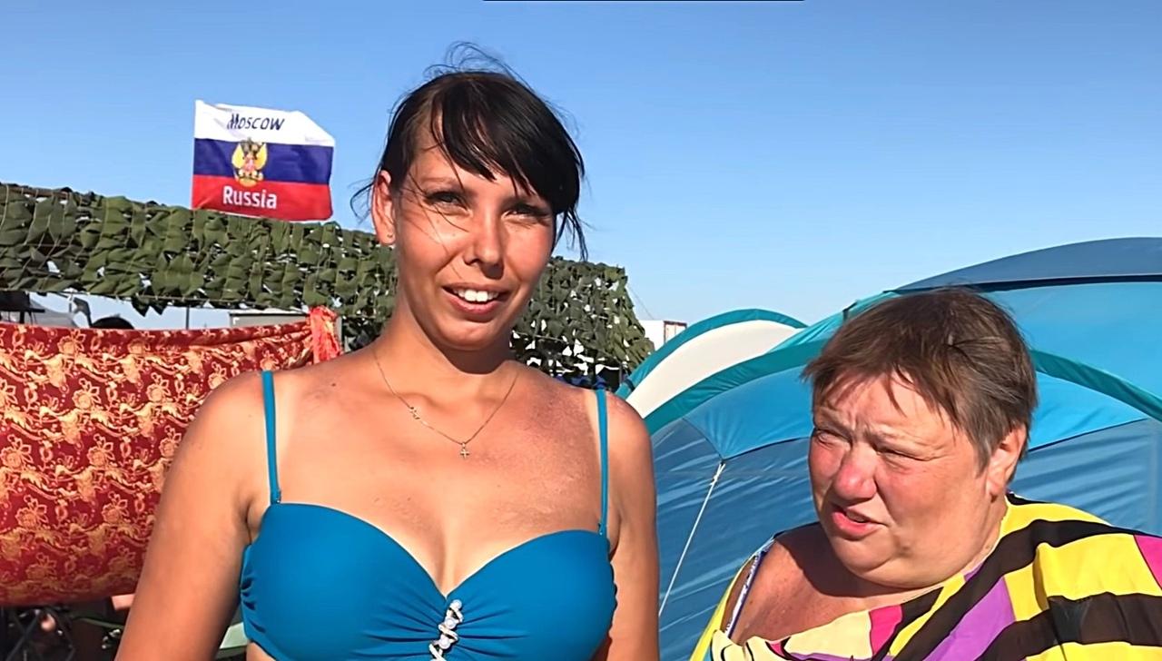 Заполонившие Крым россияне поделились эмоциями от отдыха на полуострове Мнения,Россия