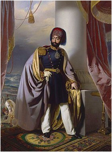 османский султан Махмуд II (из Википедии)