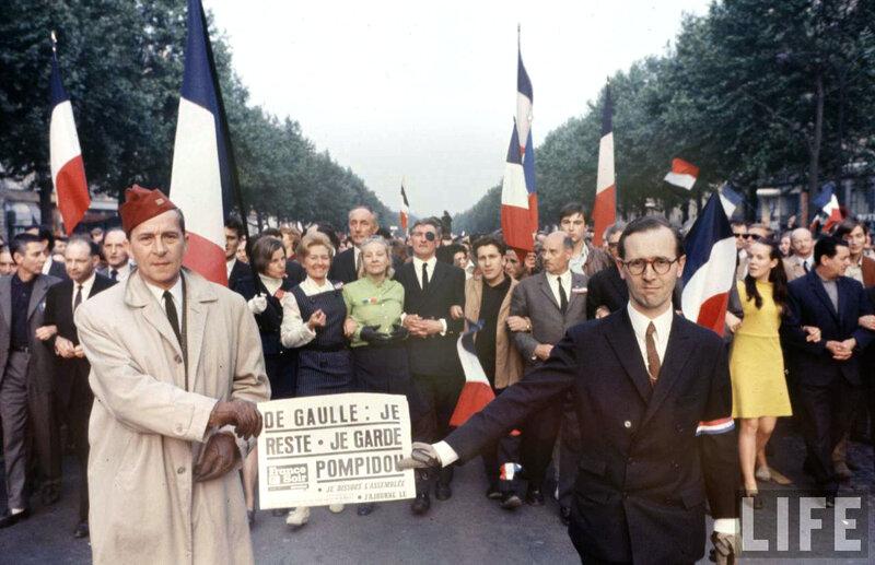 Доллар и смерть французского президента Шарля де Голля