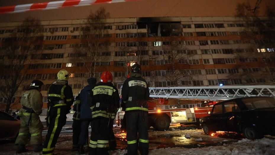 В Петербурге в доме, в котором прогремел взрыв, жил террорист