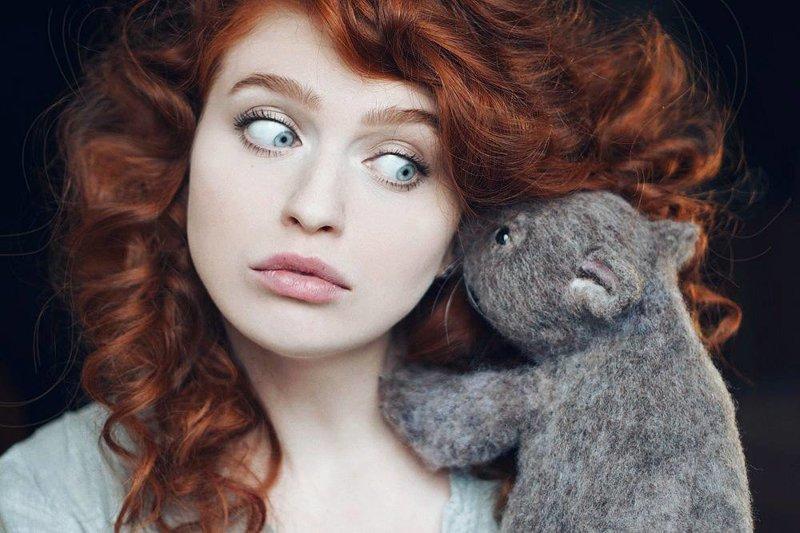 Мастер поражает сеть миниатюрными животными из валяной шерсти Валентина Теркова, валяние, валяние из шерсти, игрушки, милота