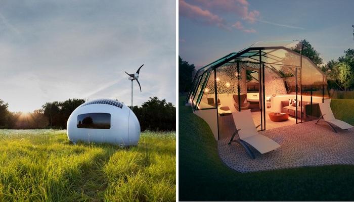 Фантастические инновационные дома, которые в будущем станут многообещающей реальностью.
