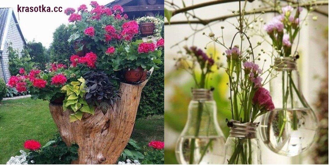 10 потрясающих идей для творческого оформления вашего сада