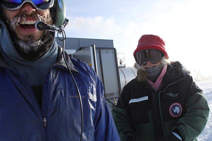 Американский ученый стал первым и единственным человеком, нашедшим через Tinder пару в Антарктиде Антарктика, антарктида, интересно, ледяной континент, познавательно, секреты Антарктики, удивительно, факты