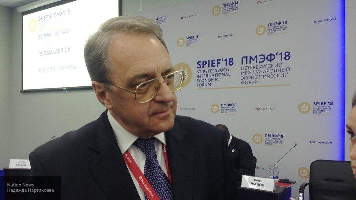 Богданов обсудил вопросы дальнейшего сотрудничества с министром Судана А.Абдаллой