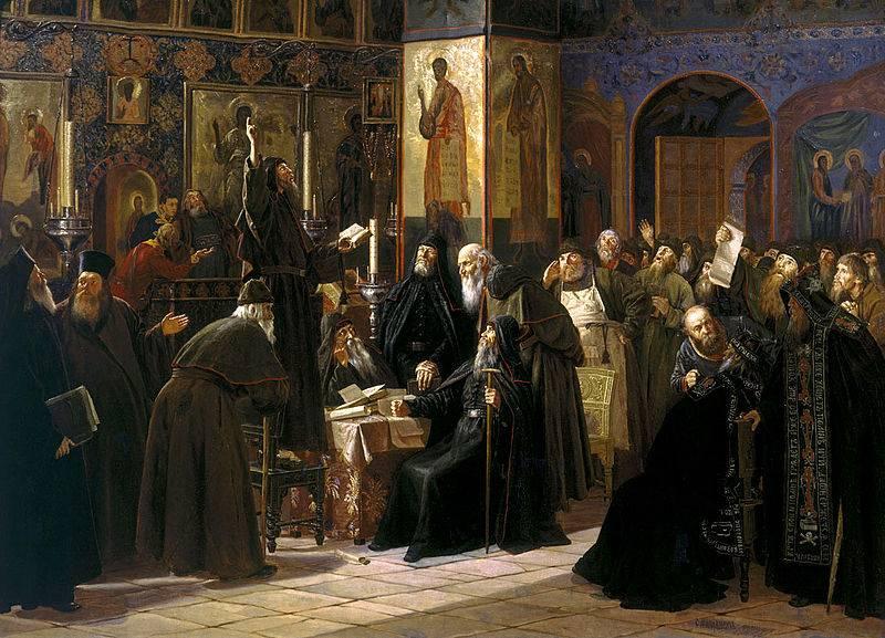 «Застонала русская земля от двух тиранов: «святейшаго» и «тишайшаго» история
