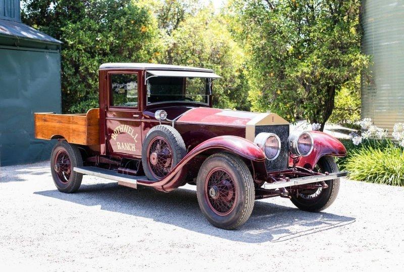 Единственный в мире пикап Rolls-Royce 1926 года