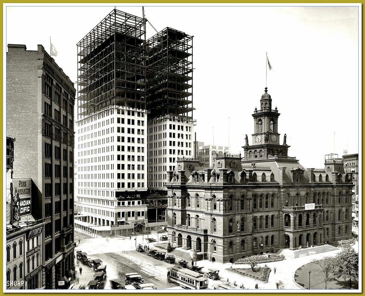 Источник Яндекс.картинки. США.1900-1920. Новостройки.