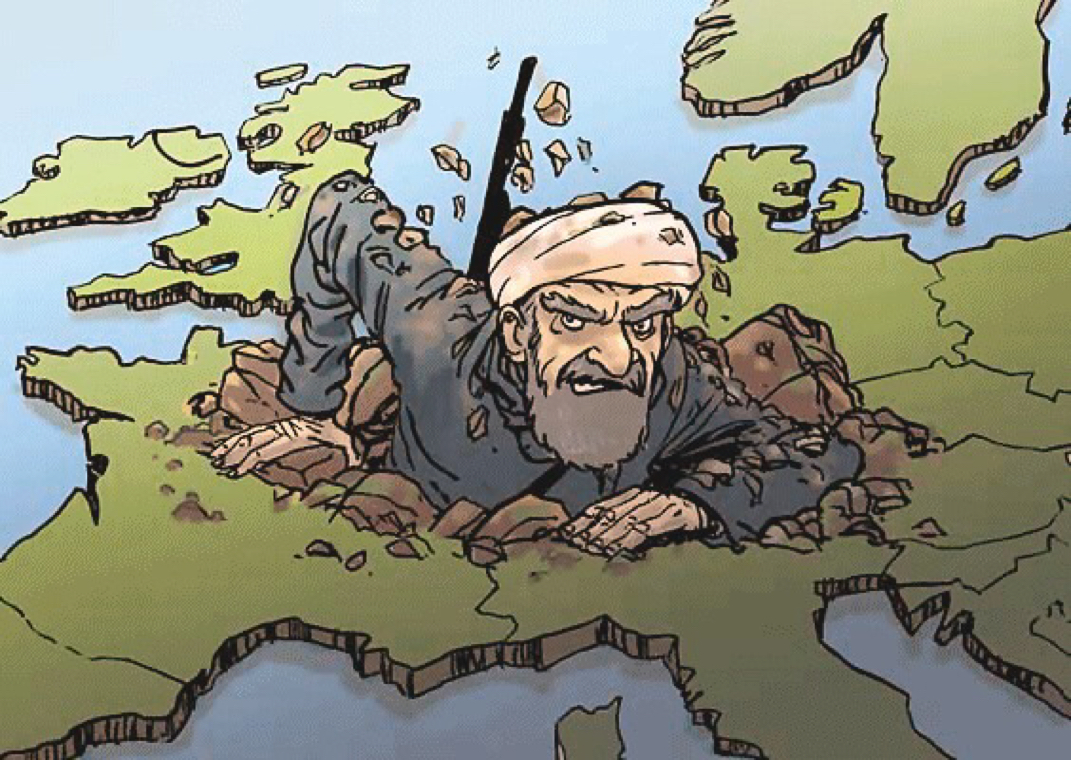 Германский халифат все ближе