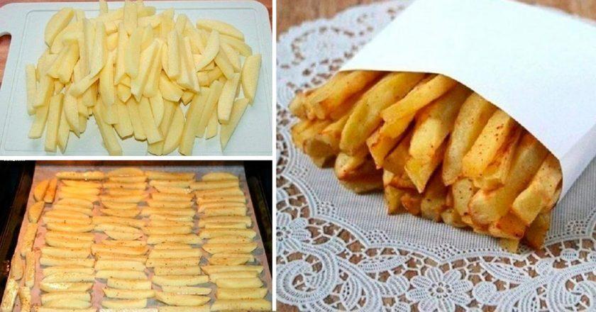 Домашний картофель фри: побалуйте близких вкусным блюдом