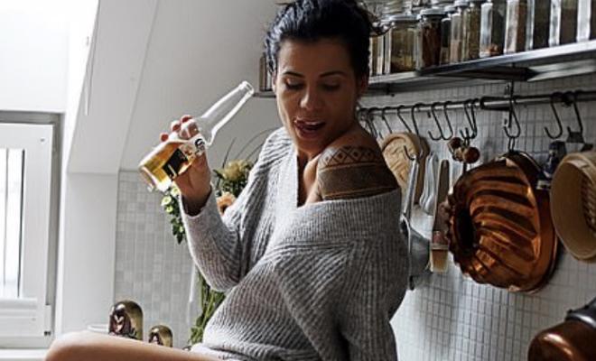 Девушка-повар ушла от плиты и стала моделью. На ее кухне хотели бы побывать многие мужчины Культура