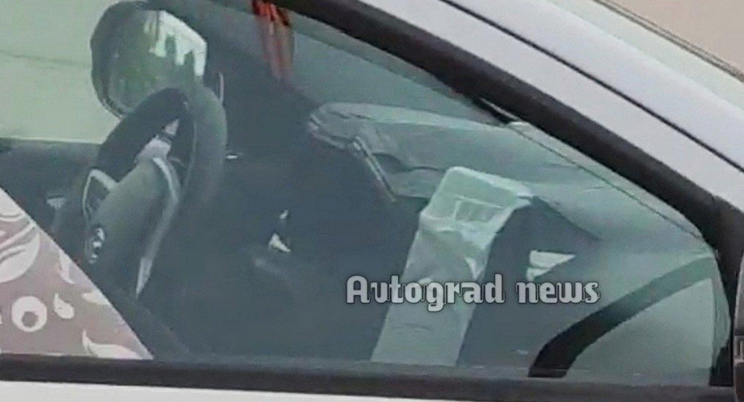Обновленной модели Lada Vesta подарят переосмысленный интерьер Автомобили