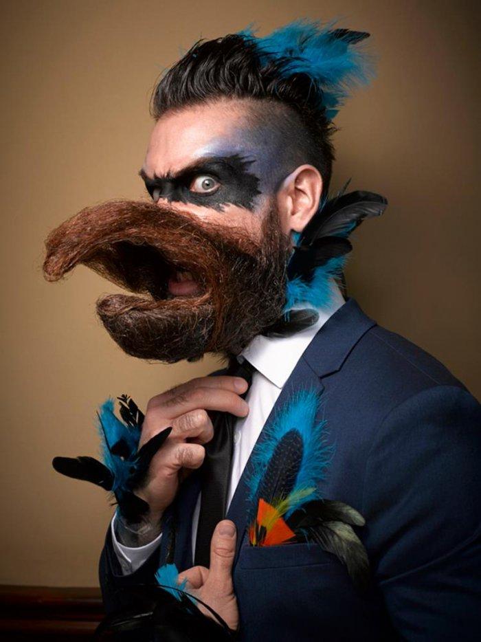 России открытка, смешные картинки бородачи