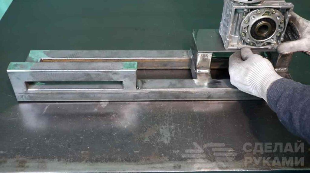 Станок для прессования алюминиевых банок самоделкин