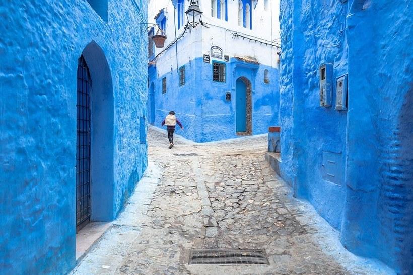 Ошеломительная красота Шефшауэна, который называют «Голубой жемчужиной» Марокко архитектура,Путешествия,фото