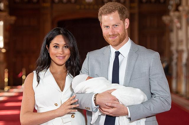 Меган Маркл и принц Гарри объяснили, почему они внесли изменения в свидетельство о рождении своего сына Арчи