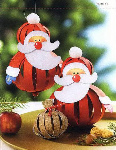 Новогодние игрушки из бумажных полос. Идеи для творчества с детьми.