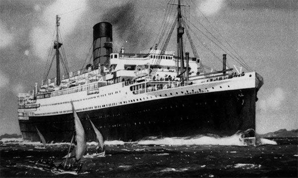 Лайнер «Ланкастрия» война, катастрофы, корабли