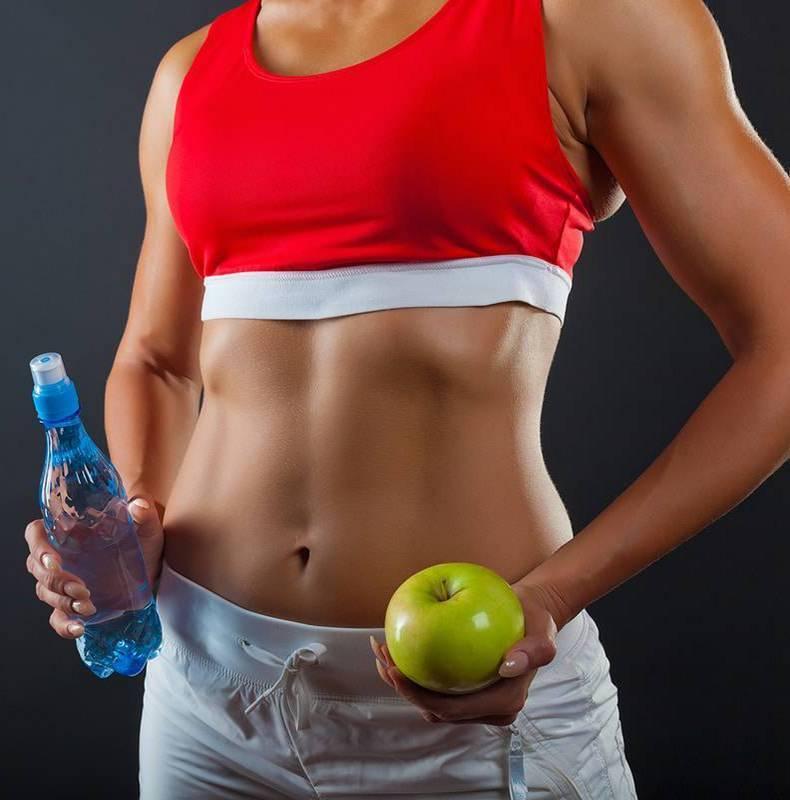 Диета похудения живота и бедер