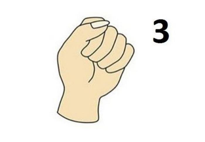 Кулак способен выдать тайны личности обладателя