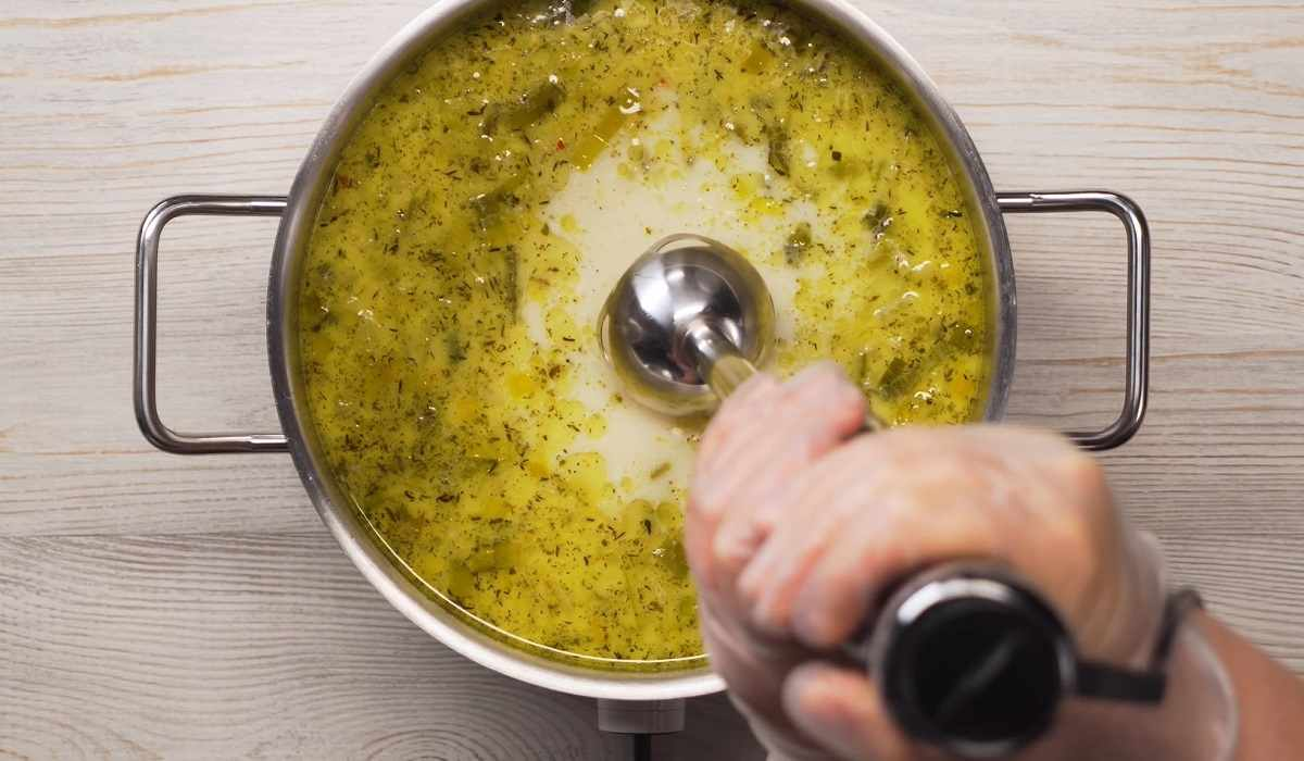 Чесночный суп-пюре кухни мира,первые блюда,супы