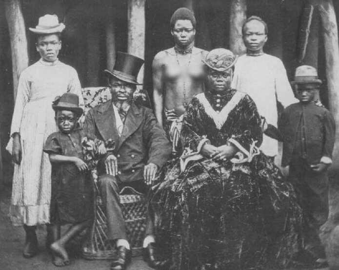 Негры - рабовладельцы