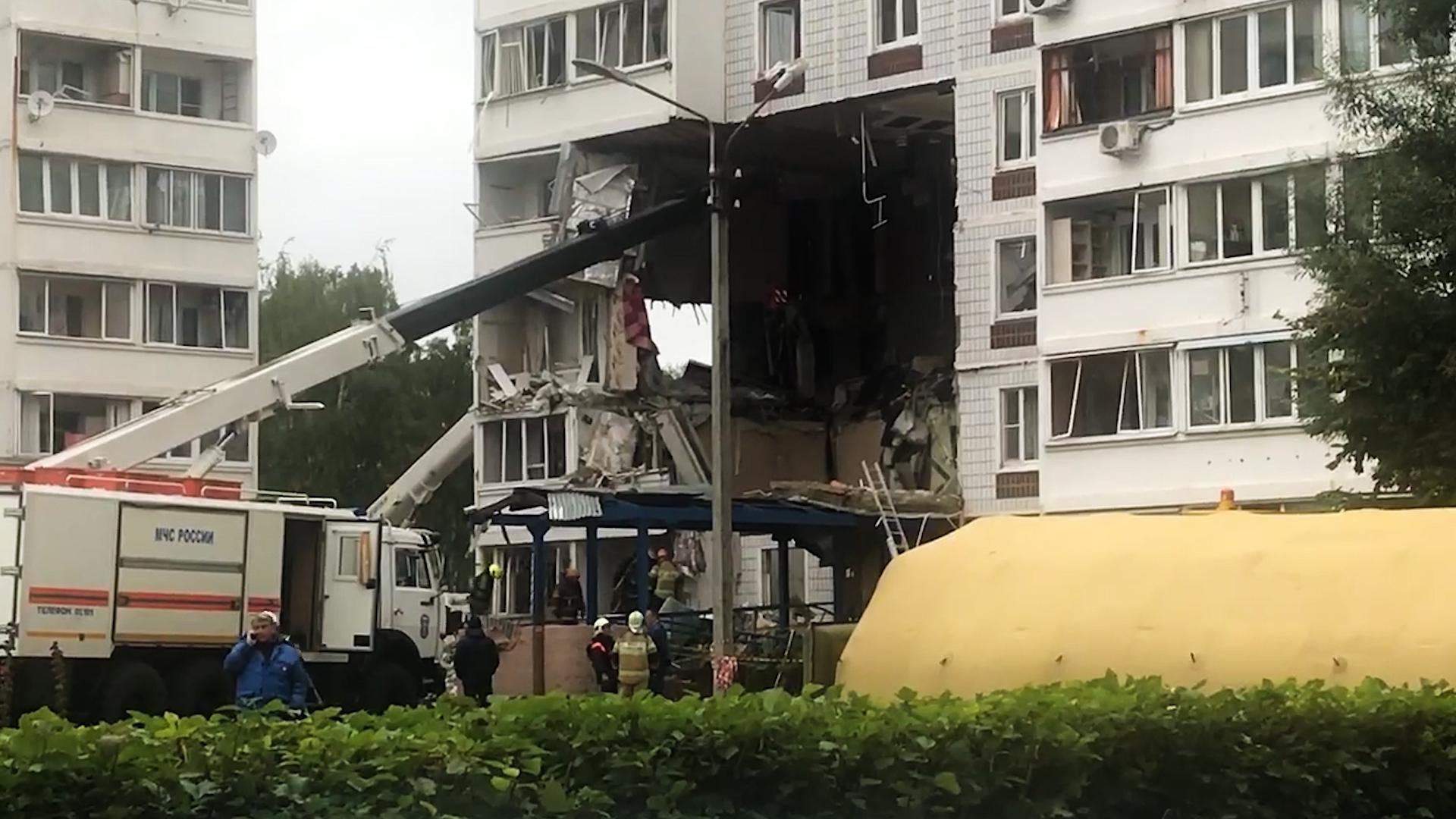 Спасатели извлекли из-под завалов тело еще одной жертвы взрыва в Ногинске Происшествия