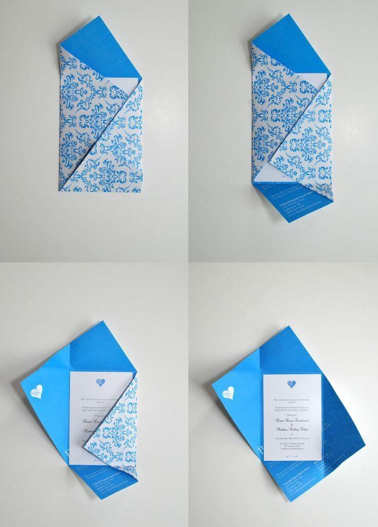 Как сделать конверт для открыток, сусликом боже