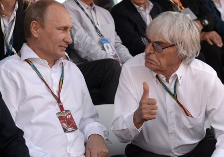 The Times, Великобритания: Берни Экклстоун: если в Путина будут стрелять, я его грудью прикрою, он — классный мужик