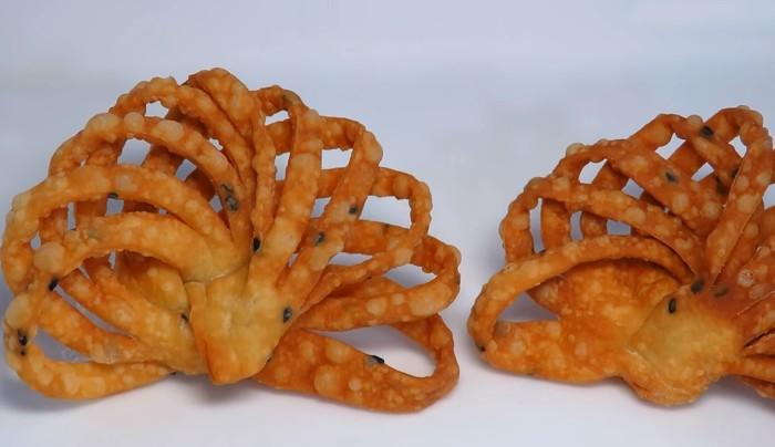 Китайские веера – этот рецепт хвороста спасет, когда вам захочется чего-то вкусненького и необычного!