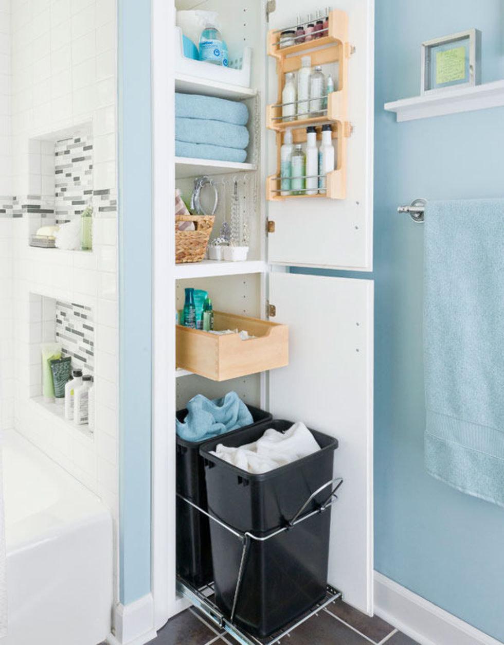 Идеи, которые можно использовать, когда места в ванной не хватает 1