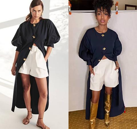 Модная битва: Ирина Шейк против Яры Шахиди