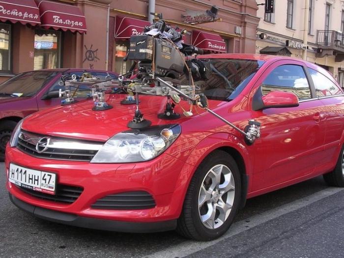 Как снимают автомобили в фильмах