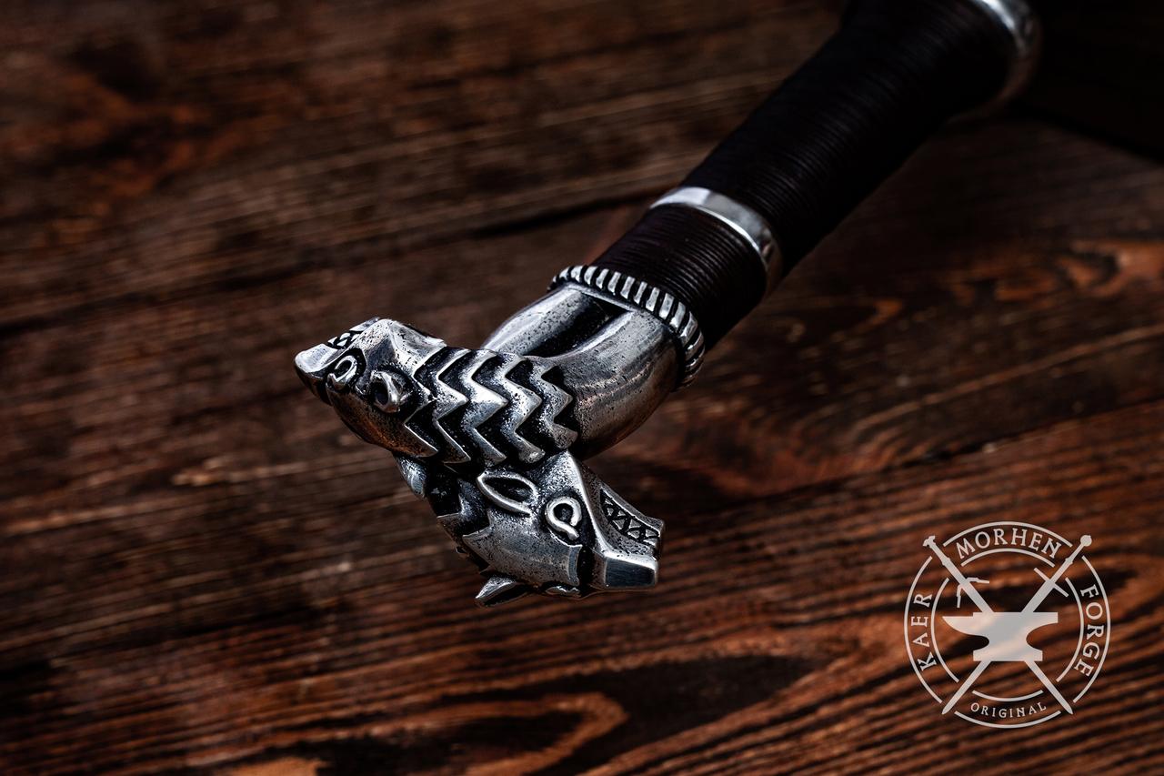 Настоящий меч Геральта из «Ведьмак 3» предлагают купить за 63 тысячи рублей Ведьмак,игроки,Игры,меч,фанаты