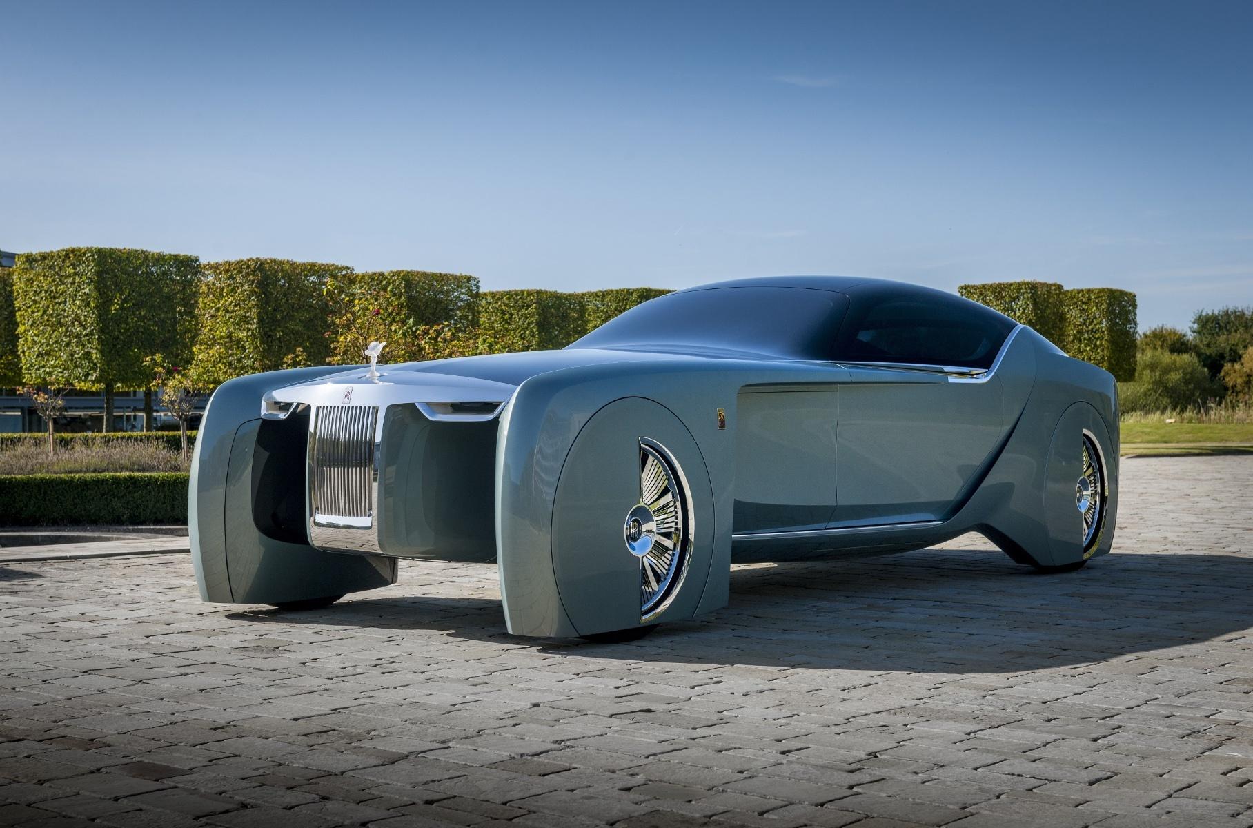 Появились подробности о первом электрокаре Rolls-Royce Новости