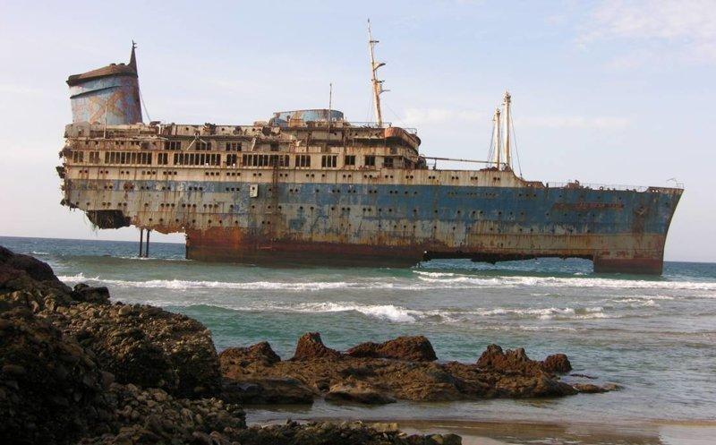 «Звезда Америки» — океанский лайнер прошел огромный путь от лайнера до военного корабля выброшенные, жизнь, катастрофа, корабли, красота, невероятное