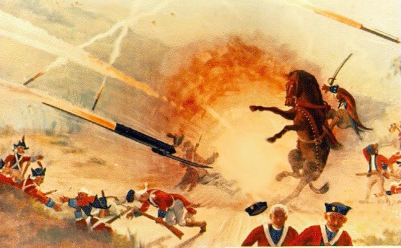 """""""Летающая чума"""" индийцев наводила ужас на британских солдат  в конце 18 века"""