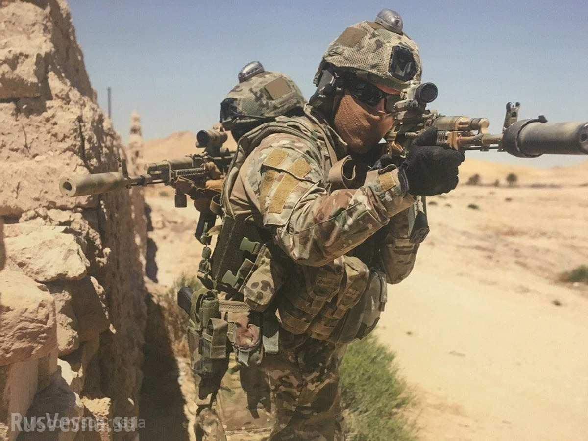 «Спецназ из СССР» - ночной кошмар ИГИЛ -  безжалостно уничтожил группу боевиков у Пальмиры