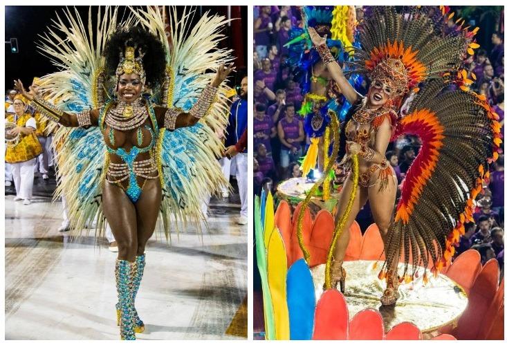 Яркие краски карнавала в Рио-де-Жанейро