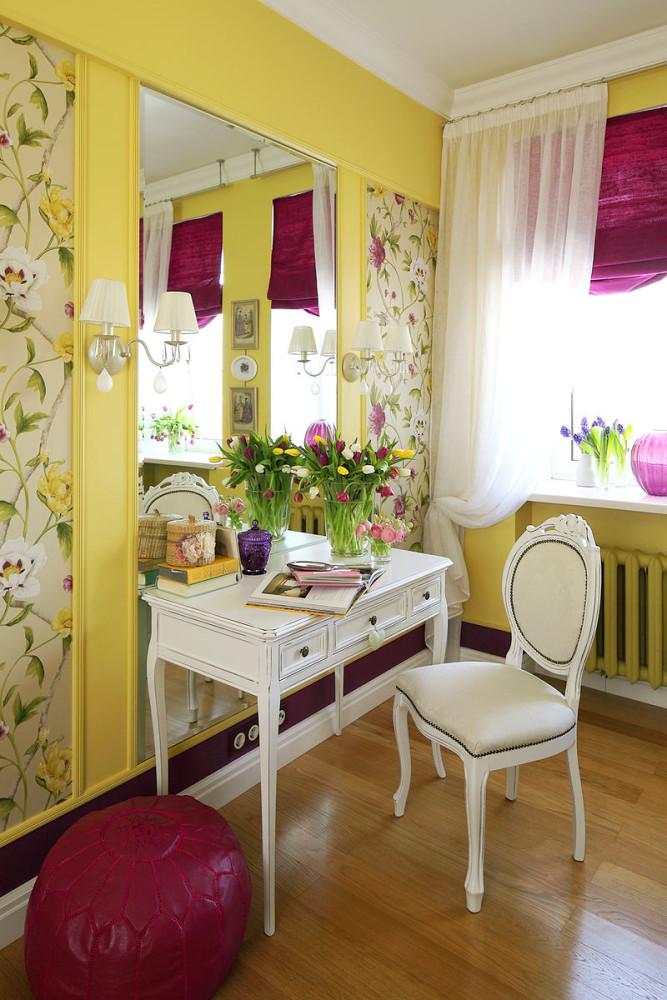 Гостиная, холл в цветах: светло-серый, белый, салатовый, бежевый. Гостиная, холл в .