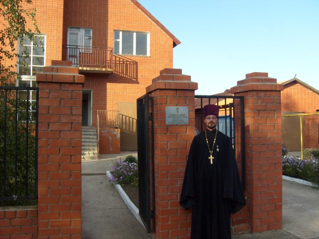 О. Виктор. Приход великомученика Георгия Победоносца