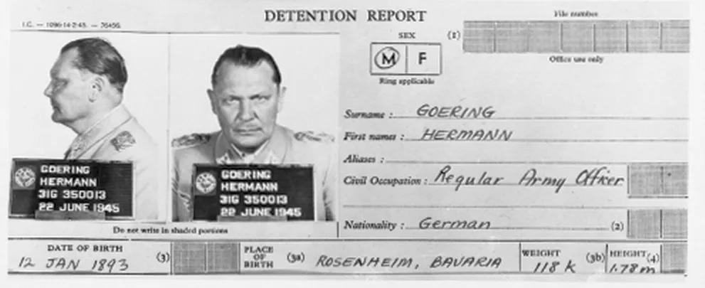 Как брали Германа Геринга