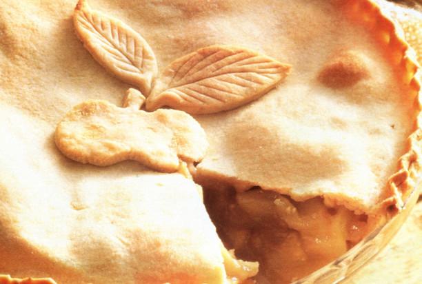 Яблочный пирог с имбирем