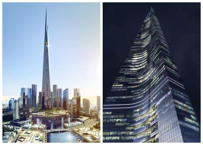 Королевская башня будет состоять из 200 этажей и подниматься ввысь на 1007 метров (Jeddah Economic City, Саудовская Аравия).