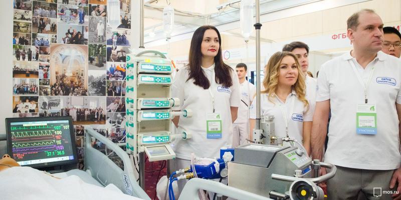 Москвичам показали новинки медицинского оборудования