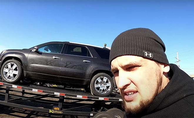 Мужчина переехал из России в США и рассказал о заработке обычного водителя на пикап-траке