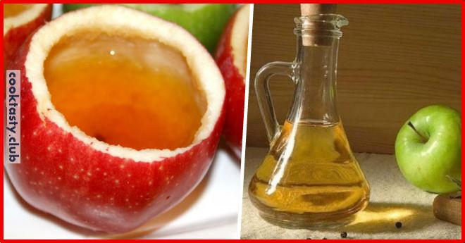 Домашний яблочный уксус &8212; отличное средство для здоровья. Готовится очень просто