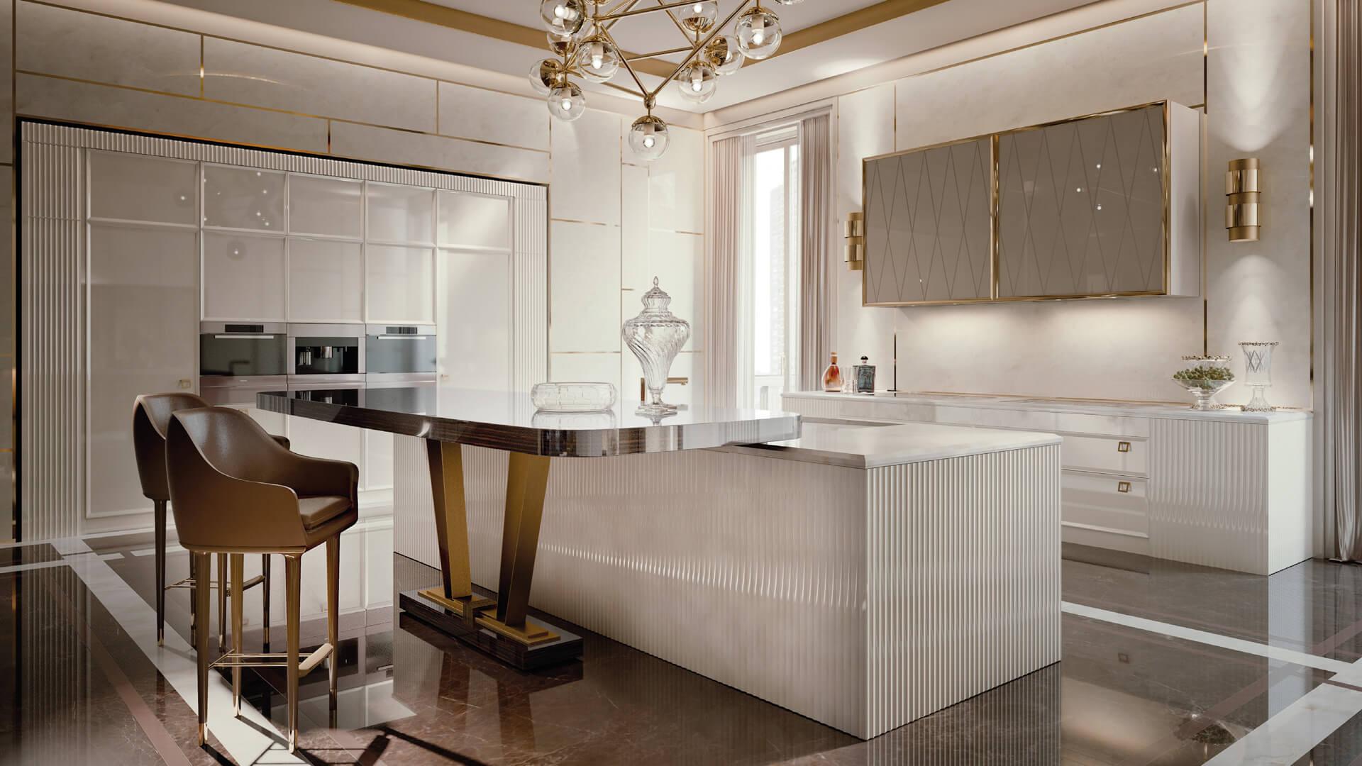 дизайн кухни в стиле арт деко фото обонятельная мера, которая